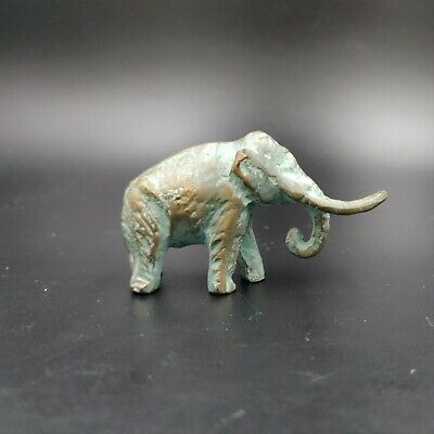 Vintage Bronze SRG Co Mammoth Figurine