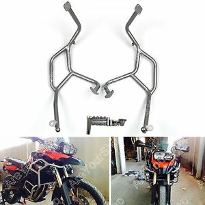 Crash bars Engine Protection Upper For BMW F800GS F700GS F650GS 08-13 Silver AU