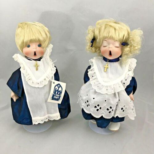 The Little Choir Singers Dolls By Shirley Favela Porcelain Dolls 1292 of 2000