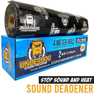 Sound Deadener 4m Roll, 30% THICKER Sound Proofing vs dynamat