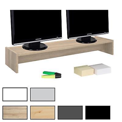 Monitorständer Schreibtischaufsatz Monitorerhöhung Aufsatz für 2 Monitore Tisch Für 2