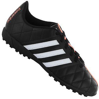 Adidas 11QUESTRA Triple Hl Children Football Shoes Indoor Sneaker Black