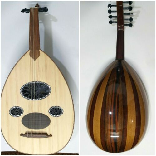 ARABIC HANDMADE WAL-NUT STRING INSTRUMENT OUD  Advanced
