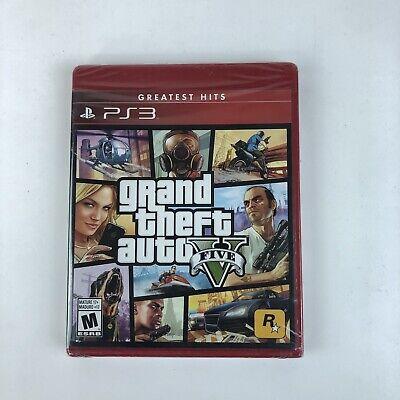 Grand Theft Auto V (Sony PlayStation 4, 2014) Greatest Hits Brand New Sealed