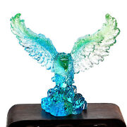 Crystal Eagle Paperweight