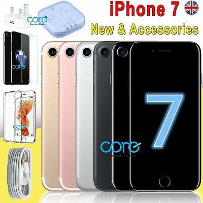 256GB Mobile Smartphone NEW Apple iPhone 7 Factory Unlocked 32GB 128GB iOS 4G UK