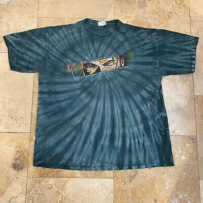 Halloween Horror Nights T Shirts (Vintage Halloween Horror Nights 2001 T-Shirt Size XL Tie Dye Run)