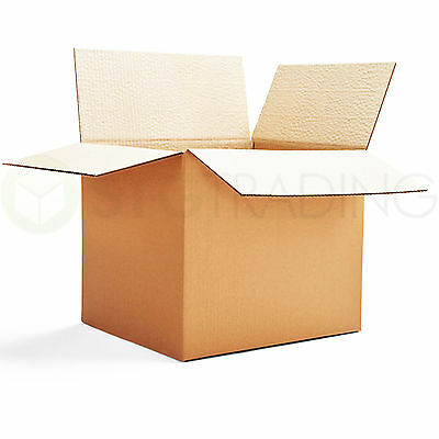 10 x S/W MAILING POSTAL CARDBOARD BOXES 13x10x12.5