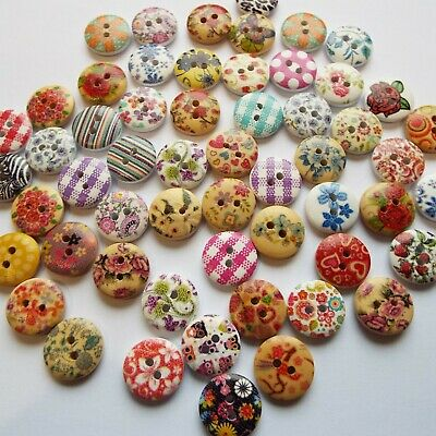 **NEW** 12mm wide 25 Resin Buttons Glossy Finish Choice of 15 colours