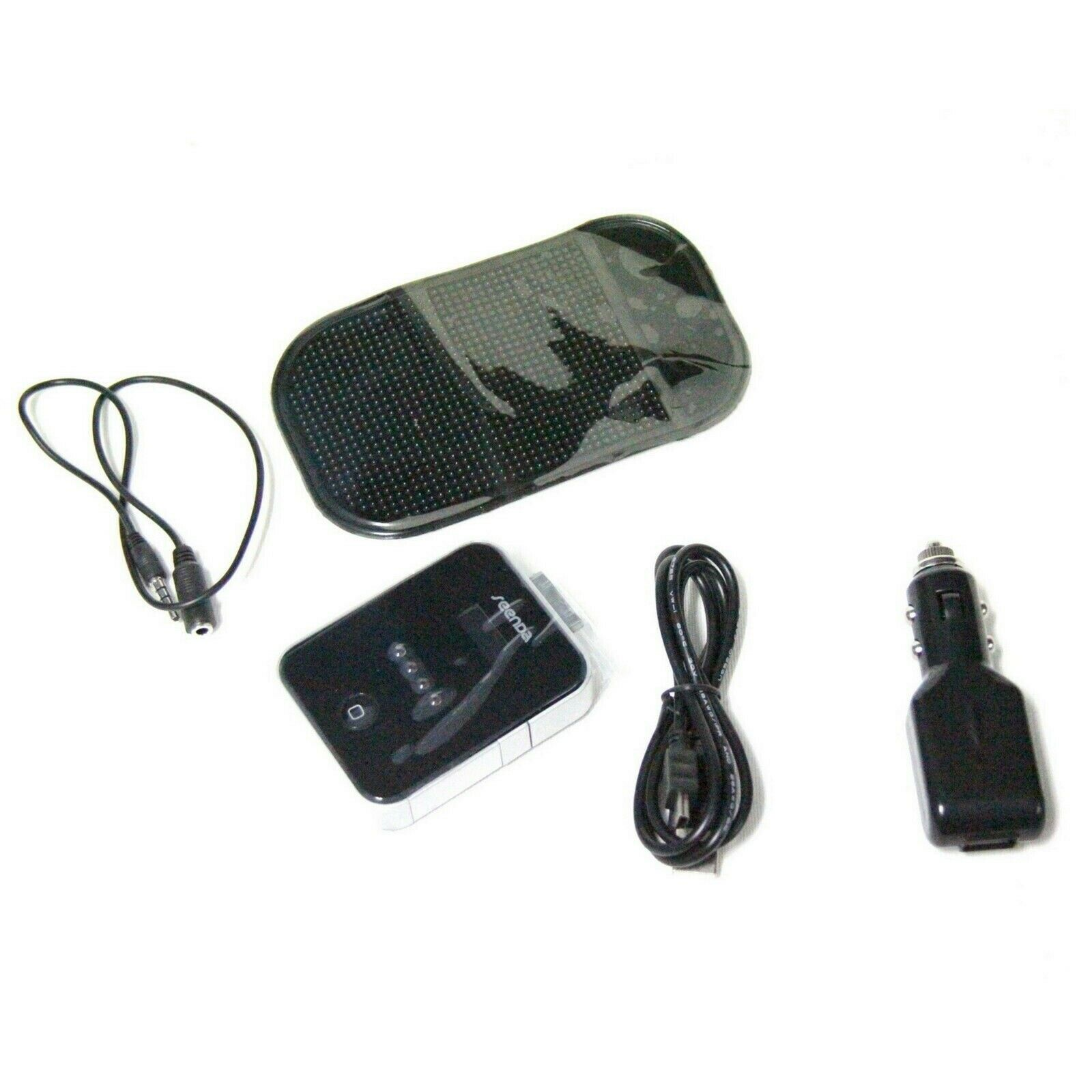 SEENDA FM TRANSMITTER BATTERY CAR CHARGER ANTI SLIP MAT USB