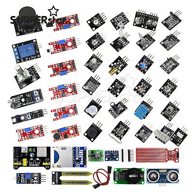 45 In 1 Sensor Modules Starter Kit For Arduino Upgrade 37 In 1 Sensor Kit Ass
