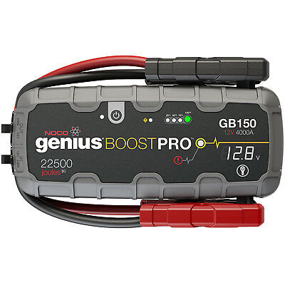 (NOCO GB150 Genius Boost Pro UltraSafe 4000 Amp 12V Lithium Battery Jump Starter)
