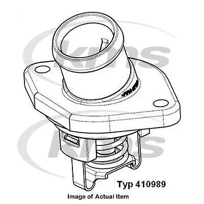 New Genuine WAHLER Antifreeze Coolant Thermostat  410989.87D Top German Quality