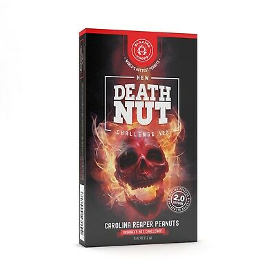 The Death Nut Challenge V2 Carolina Reaper peanuts FREE SHIPPING
