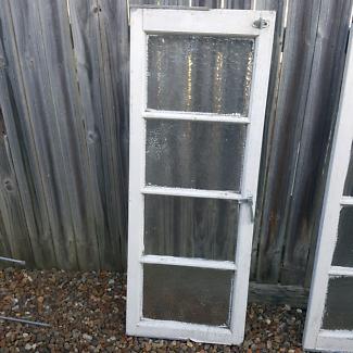 1 Antique Silky Oak Casement Window