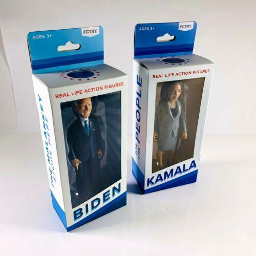 "Joe Biden & Kamala Harris FCTRY Collectible 6"" Action Figure Dolls | 2020 Dems"