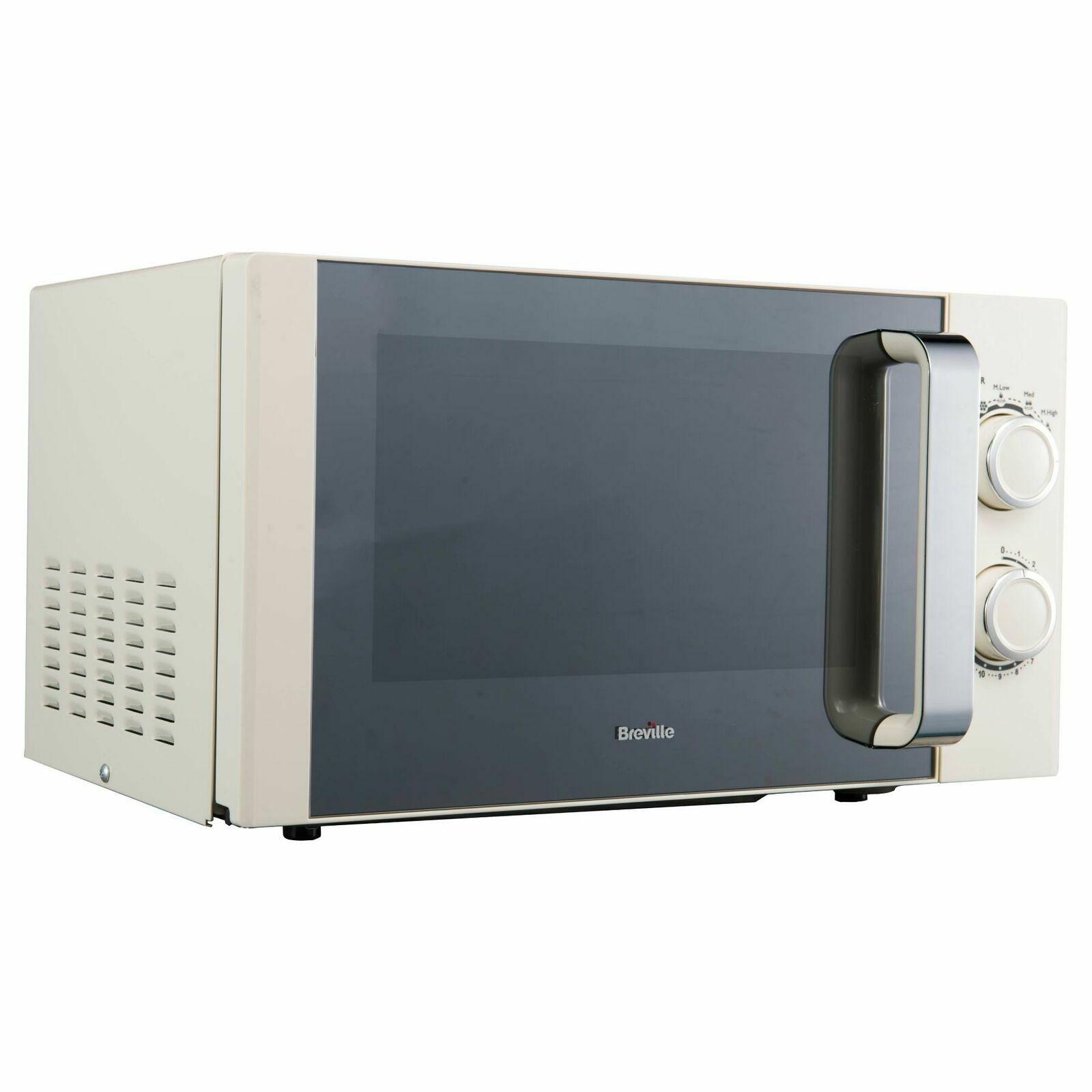 Cream Microwave Oven Manual 17L Cheap Buy Sale Kitchen Brevi