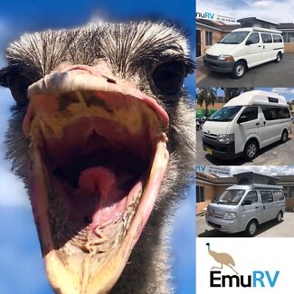 Emu RV offering a great selection of Campervans... Penrith Penrith Area Preview