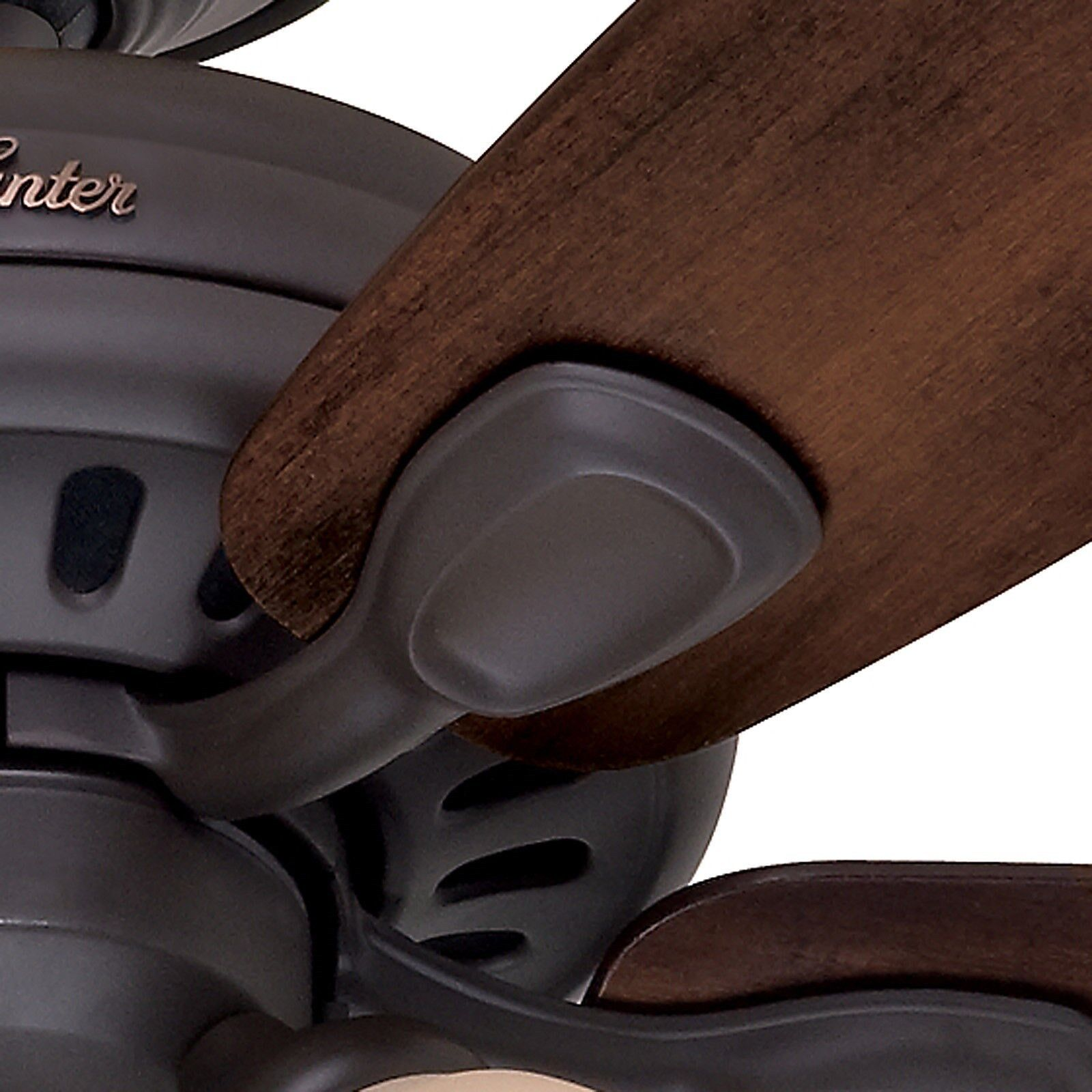 Hunter 52 Chatham New Bronze Ceiling Fan With Light At: Hunter 52 In. New Bronze Ceiling Fan With Light & Remote