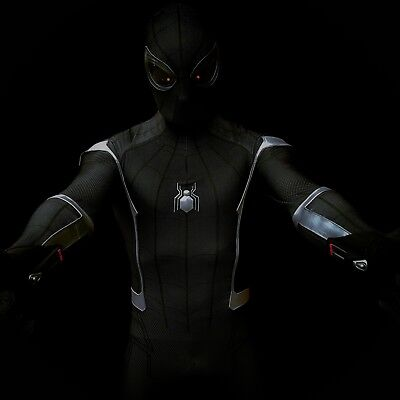 Spider-man Symbiote Homecoming Costume Suit