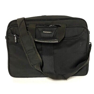 Samsonite Laptop Briefcase Attaché Nylon Carrying Case With Shoulder Strap