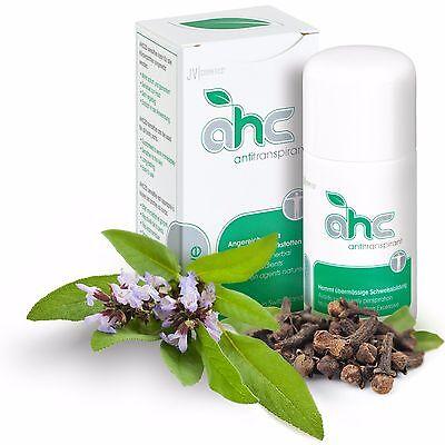 AHC sensitive Antitranspirant gegen Schwitzen und Schweiß 50ml kein Deo (AHC20)