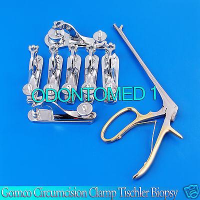 13 Pc Gomco Circumcision Clamp 1.1 1.3 1.45 1.5 1.6 2.1 3.2 Cm Tischler Biopsy