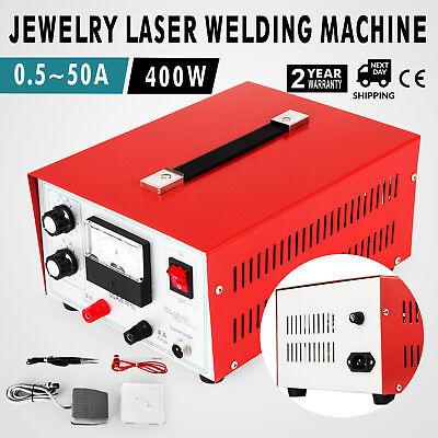 Jewelry Laser Welding Machine 0.5-50a Pulse Sparkle Spot Welder Jewelry Tool