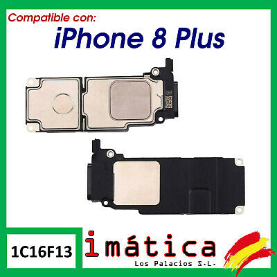 BUZZER PARA APPLE IPHONE 8 PLUS ALTAVOZ INTERNO INTERIOR FLEX REPUESTO SONIDO