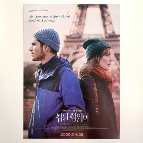 Someone Somewhere A4 Korean Movie Mini Poster Film Flyer Ads Wall Art Deux Moi