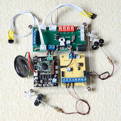 1 set grade crossing signal + automatic control system with sound effect & blink
