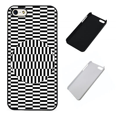 Sphere Illusion plastic phone case Fits iPhone (Illusion Plastic Case)
