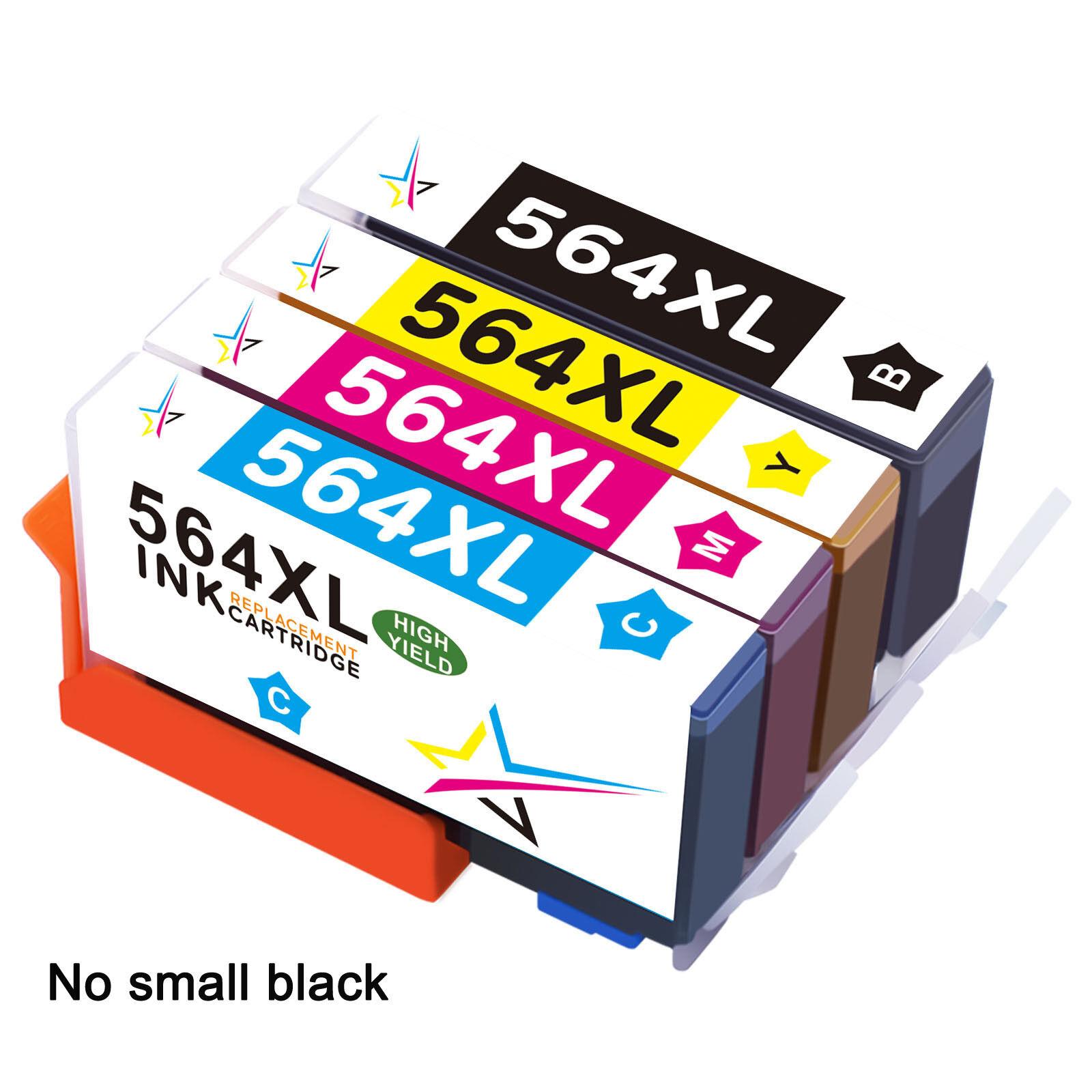 4pk HP564 W/Chip For HP 564XL 564 XL Ink Cartridge Printer B