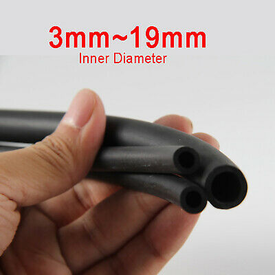 Nitrile Rubber Black Fuel Tube Petrol Diesel Oil Line Hose Pipe Tubing 3mm19mm