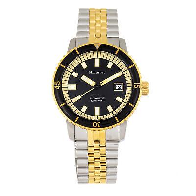 edgard bracelet diver s watch w date