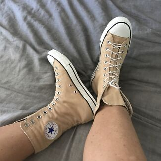 12 hole high top converse all stars