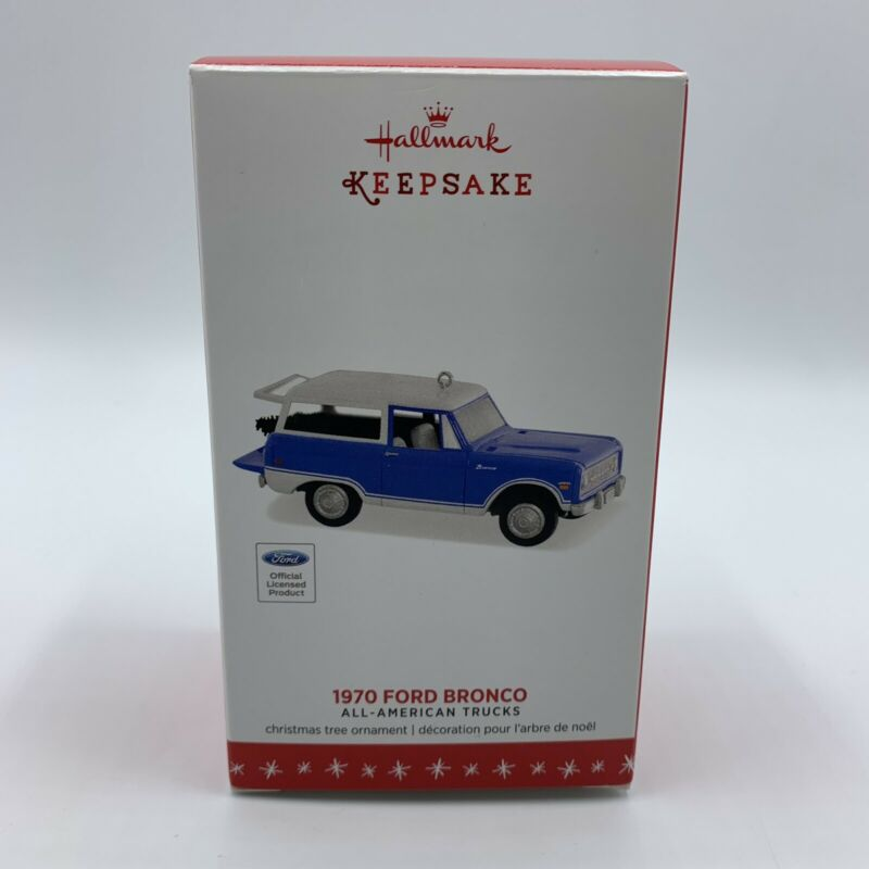 1970 Ford Bronco Hallmark Keepsake Official Licensed Ornament - 2016