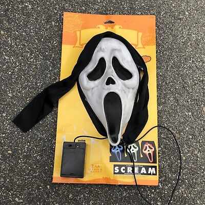 RARE 1997 Scream Fun World Easter Unlimited Color Changing Mask New NWT
