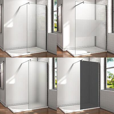 8/10mm Walk in Duschwand ESG NANO Glas Dusche Duschkabine Duschabtrennung
