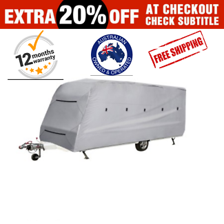 Heavy Duty 18-20 ft 4 Layer Caravan Cover Free Delivery