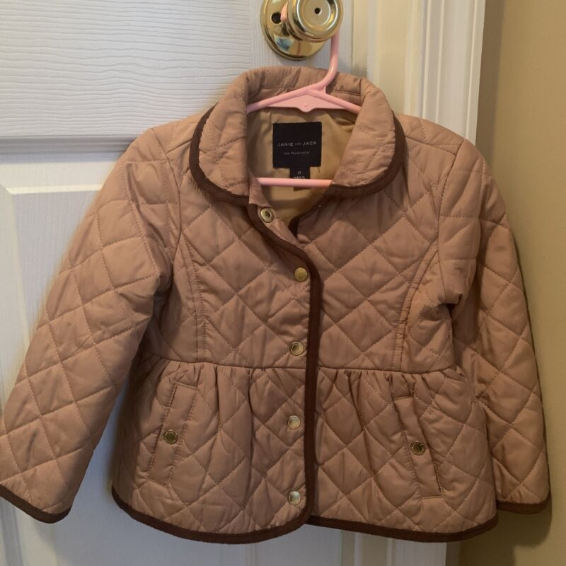 Janie and Jack Quilted Jacket 2T