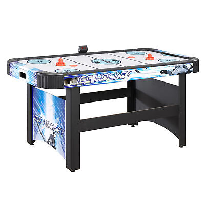 Face-Off 5-Foot Air Hockey Game Table w/ Electronic Scoring