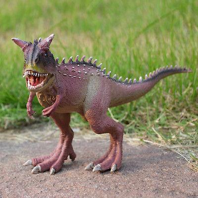 Jurassic Realistic Carnotaurus Educational Dinosaur Figure Model Kids Toy GIFT - Realistic Dinosaur
