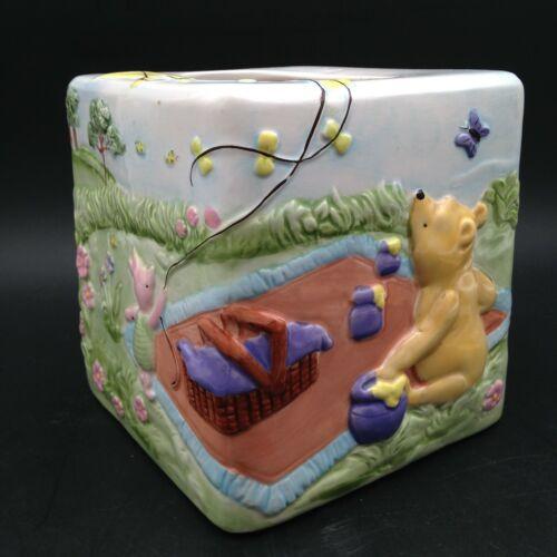 Disney Winnie the Pooh Tigger 3D Ceramic Kleenex Tissue Box Cover Room Decor