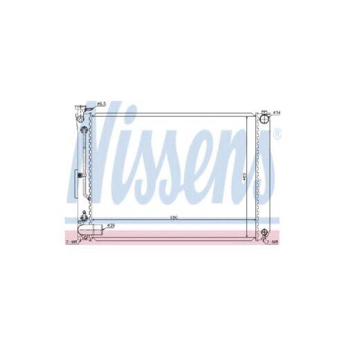 Genuine Nissens Engine Cooling Radiator - 646866