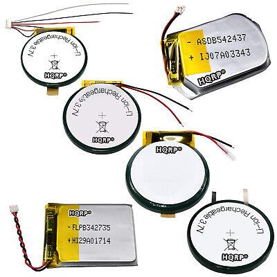 Batteries for Garmin Approach Fenix Forerunner Tactix Series GPS Sport Watch