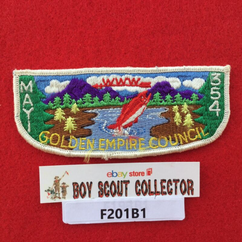 Boy Scout OA Mayi Lodge 354 S2 Order Of The Arrow Pocket Flap Patch