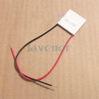 30x30x3.2mm 5a 15v 43w Tes1-12705 Thermoelectric Cooler Peltier Heatsink