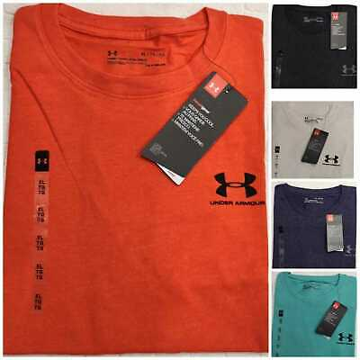 Under Armour Men's T shirt Charge Cotton Crew Neck Training /Running Gym/Sport