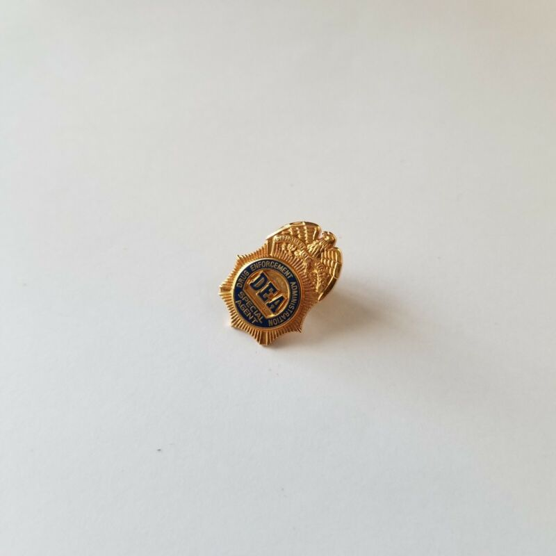 DEA Pin US Drug Enforcement Agency Special Agent Mini Lapel Hat Collector Pins